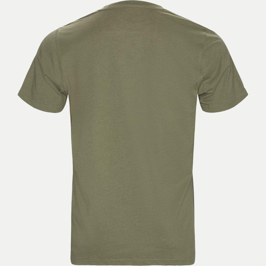 WAINE LOGO - T-shirts - Regular - ARMY MEL - 2